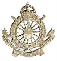 WW1 THE CITY OF LONDON CYCLISTS CAP BADGE SOLID SILVER
