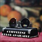 MENS 70'S 80'S RETRO SUNGLASSES CELEBRITY CIRCLE BLACK