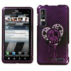 I Heart Rock Hard Case Phone Cover for Motorola Droid 3
