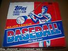 1988 TOPPS BASEBALL UNOPENED CELLO BOX OF 24 PACKS TOM GLAVINE RC! GREAT GIFT