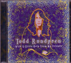 TODD RUNDGREN With A Little Help From Friends CD Classic 70s Rock HELLO ITS ME