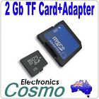 2G 2GB MicroSD Micro SD TF Memory Card Adapter