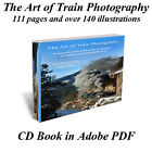 The Art of Train Photography Prototype Photography CD