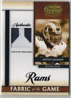 STEVEN JACKSON 2008 Leaf PATCH 19/25 Certified Materials Prime Jersey Fabric