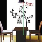 Extral Lagre Removeable Bird Cage Tree Wall Sticker
