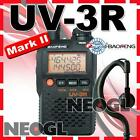 Original New Bao Feng UV-3R Mark II dual display ham band 2way radio transceiver