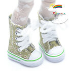 """Knee-Hi Canvas Sneakers Boots Shoes Flowers Green for Yo-SD Dollfie/12"""" Kish"""
