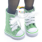 """Knee-Hi Canvas Sneakers Boots Shoes Green for Yo-SD Dollfie/12"""" Kish dolls"""