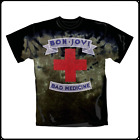 NEW Bon Jovi Bad Medicine Tie Dye Premium Rock Live Band T Shirt M L XL 2X