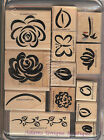 Stampin'Up Select Your Set Flowers, Sayings, Used & New S35,39,40