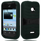 Rubberized Black Rubber HARD Protector Case Phone Cover for Motorola Electrify