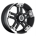 17 x8.5 inch V-tec Warlord wheels rims 8x170 -12 / Ford F250 F350 Excursion