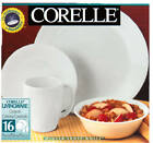 Corelle Livingware 16 Pc. Winter Frost Dinnerware Set, Microwavable, Oven Safe