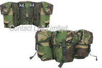 New Military PLCE TRIPLE Utility Pouch BRITISH DPM CAMO WATER BOTTLE ARMY   K