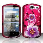 Pink Hibiscus Flowers HARD Protector Case Phone Cover for Huawei AT&T Impulse 4G