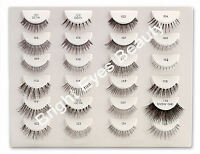 *ANY 4 PAIRS OF ARDELL 100% human hair STRIP LASHES plus DUO ADHESIVE GLUE 7g*