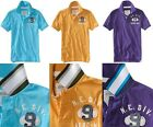 Aeropostale men New York #9 graphic JERSEY POLO T shirt XS,S,M,L,XL,2XL NEW NWT