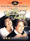 Four Weddings and a Funeral (DVD, 1999)  Hugh Grant