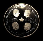 Scarce 1977 Canada Governor General Commemorative Large SIlver Medal RCM PROOF