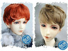 "2-wig set 5-6"" Brown&Carrot Synthetic Mohair Short Wig for Lati-Yellow BJD Doll"