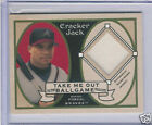 2005 TOPPS CRACKER JACK RAFAEL FURCAL GAME USED JERSEY