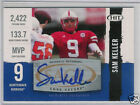 2008 SAGE HIT AUTOGRAPHS BLUE SAM KELLER AUTO A39