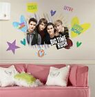 New BIG TIME RUSH WALL STICKERS - BTR Fan Large Room Decals Bedroom Decorations
