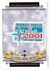 2001 ALL STAR GAME AT SEATTLE MARINERS MLB BASEBALL UPPER DECK PATCH