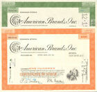 American Brands Fortune tobacco cigarettes stock certificate share