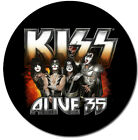 KISS Poker Chip Card Guard Double Sided