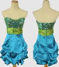 New SPEECHLESS $120 Turquoise / Lime Prom Homecoming Party Cocktail Size 11