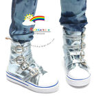 Buckles Ankle Leather Sneakers Boots Shoes Metallic Water SD13 Boy Dollfie dolls