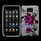 NEW Flower Style Silicone GEL Cover Case SKIN FOR SAMSUNG GALAXY S2 S II i9100