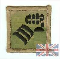 OFFICIAL Multicam / MTP Velcro Backed 20th Armoured Infantry Brigade TRF Badge