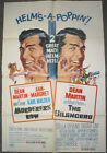 MURDERER'S ROW / THE SILENCERS / ORIG. U.S. ONE SHEET MOVIE POSTER (DEAN MARTIN)