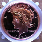 20~1oz. PEACE DOLLAR $ DESIGN**.999 FINE**COPPER BULLION ROUNDS*USA*1921* 1 ROLL
