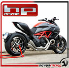 HP Corse Hydroform Factory Steel Dual Exhaust System Ducati Diavel 2011