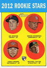 2012 Heritage Rookie Stars Benson Chambers Brown Taylor Twins Cardinals A's 95