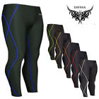 Tights Skin Compression sport running pants base layer gear shirts S~XXL
