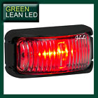 LED MARKER SIDE LIGHT LAMP SUBMERSIBLE TRUCK TRAILER RED 12/24v MULTIVOLTAGE