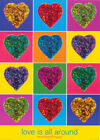POSTER :PHOTO : LOVE IS ALL AROUND by MICHAEL BANKS - FREE SHIP #PP0029 RC28 N