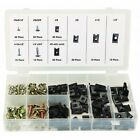 170 PC U-CLIP AND SCREW KIT INTERIOR TRIM SCREW DOOR DASH ENGINE BAY