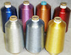 #40 Metallic Embroidery Threads (different colors/yardages)