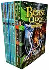 Beast Quest Series 7 Collection 6 Books Pack Set (37 to 42) Adam Blade Convol, H
