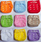 Lovely Cute Baby Cloth Diaper Nappy Size Can Be Adjusted for 3-18kg Baby 9 color