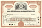 Erie-Lackawanna Railroad Company New York stock certificate share