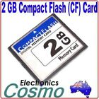 2GB 2G Compact Flash CF I II Memory Flash Card For SLR Camera New High Quality