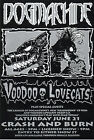 Dogmachine + Voodoo Lovecats original gig flyer from 1997