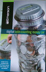 BANK - EMERSON DIGITAL COIN-COUNTING MONEY JAR-AUTOMATICALLY CALCULATES