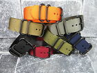 New 24mm Nylon Diver Strap 3 Rings PVD Watch Band Military ZULU Maratac 24